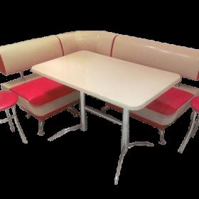 Кухонный уголок со столом «Лира-2» 123х123