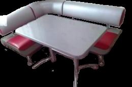 Кухонный уголок со столом «Лира-2» 2к