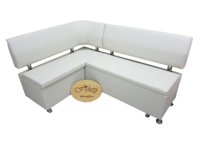 Кухонный уголок со спальным местомВероника 2 в ткани экокожа санторини