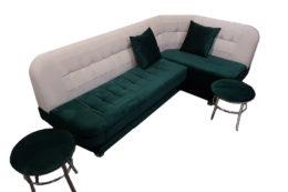Из какой ткани лучше брать диван на кухню?