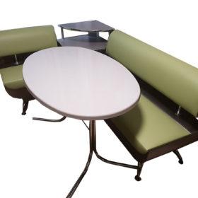 Кухонный уголок со столом «Лира-1» экокожа