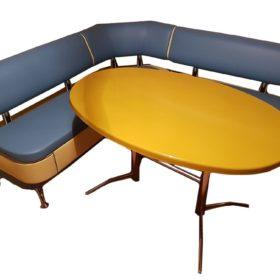 Кухонный уголок со столом «Альгида» экокожа купить в Москве
