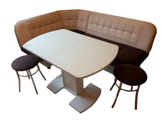 Кухонный уголок со столом «Лаура» антикоготь