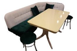 Кухонный уголок со столом «Лаура» антикоготь купить
