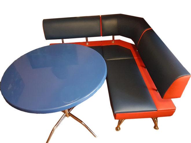Кухонный уголок со столом «Лира-2» экокожа