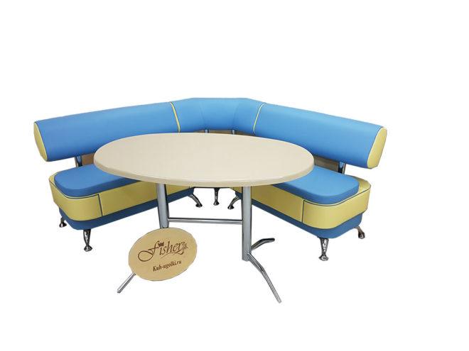 Кухонный уголок со столом «Альгида» экокожа купить