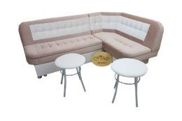Кухонный уголок со столом «Лаура» в ткани антикоготь