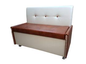 Кухонный диван «Вероника-3» в экокоже artvision