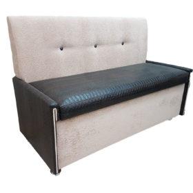 Кухонный диван «Вероника-3» в ткани и экокоже iguana