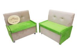 Кухонный диван «Вероника-1» в ткани velvet