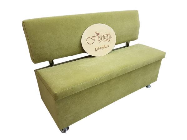 Кухонный диван «Вероника 2» в ткани velvet