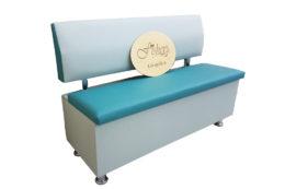 Кухонный диван «Вероника-1» в экокоже spirit