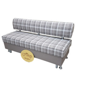 Кухонный диван «Вероника-1» в ткани бонлайф лестер