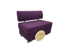 Кухонный диван «Вероника-1» velvet lux