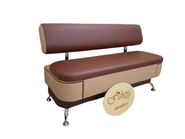Кухонный диван «Альгида» soft экокожа domus