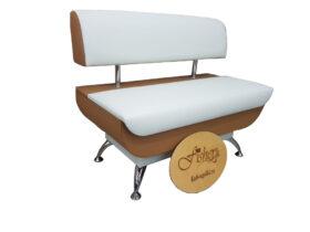 Кухонный диван «Лира» экокожа санторини