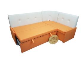 Кухонный уголок со спальным местом «Вероника-3» экокожа domus
